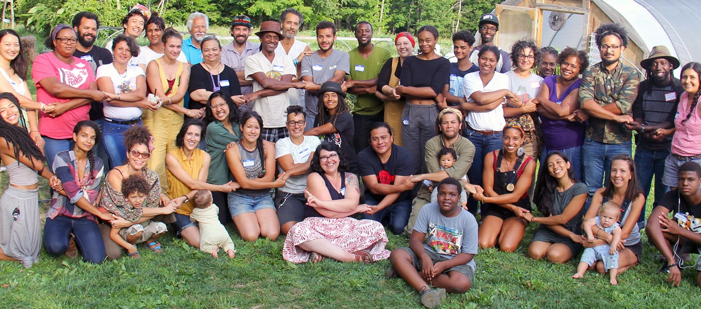 Members of the Northeast Farmers of Color Land Trust.