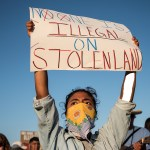 Indigenous People Demand an End to Detention on Stolen Lands