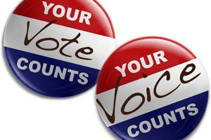 Your Vote/Voice Counts