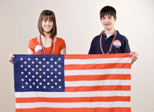 Teen voters by Shutterstock.