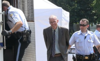 Bill McKibben Arrested Democratic Committee.jpg