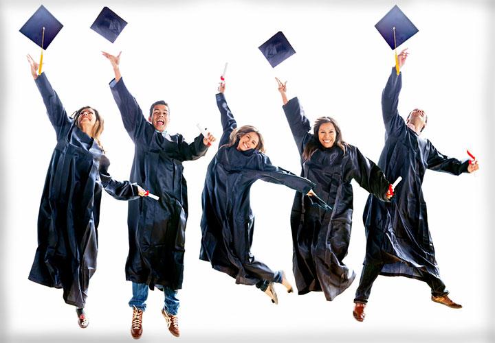 College grads by Shutterstock