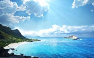 Sun in Hawaii