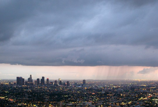 Rain in Los Angeles. Photo by Nathan Gibbs / Flickr.