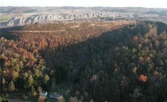Hobet mountaintop removal mine. Photo by Vivian Stockman.