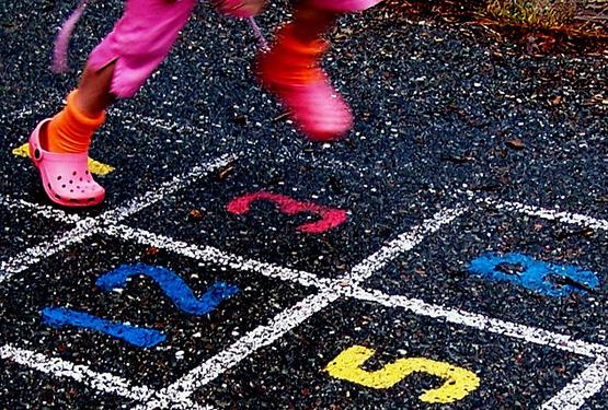 Hopscotch. By D. Sharon Pruitt / Flickr.