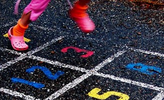 Hopscotch. By D. Sharon Pruitt / Flickr.