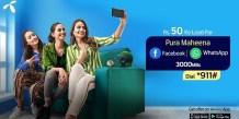 Telenor Facebook WhatsApp Monthly Offer