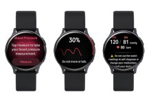 Samsung Galaxy Watch Active 2 finally gets blood pressure monitoring support