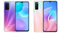 Honor 30 Lite (Youth Edition) 5G renders appear to reveal color variants