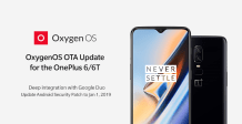 OnePlus 6/6T update brings OnePlus Buds support, July security patch