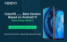 OPPO announces Android 11 Beta recruitment for Find X2/X2 Pro and Reno4/Reno4 Pro