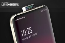 OPPO patents a Smartphone design with double-sided pop-up camera having reflective mirror