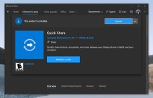 Samsung's Quick Share along with Samsung 'Free' and 'O' coming to Windows 10 soon: Report