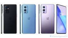 OnePlus 9 and 9 Pro 5G official renders leaked once again