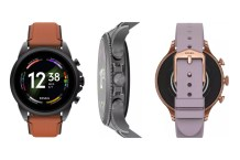 Fossil Gen 6 Wear OS smartwatch will launch officially on August 30