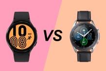 Samsung Galaxy Watch 4 vs Samsung Galaxy Watch 3