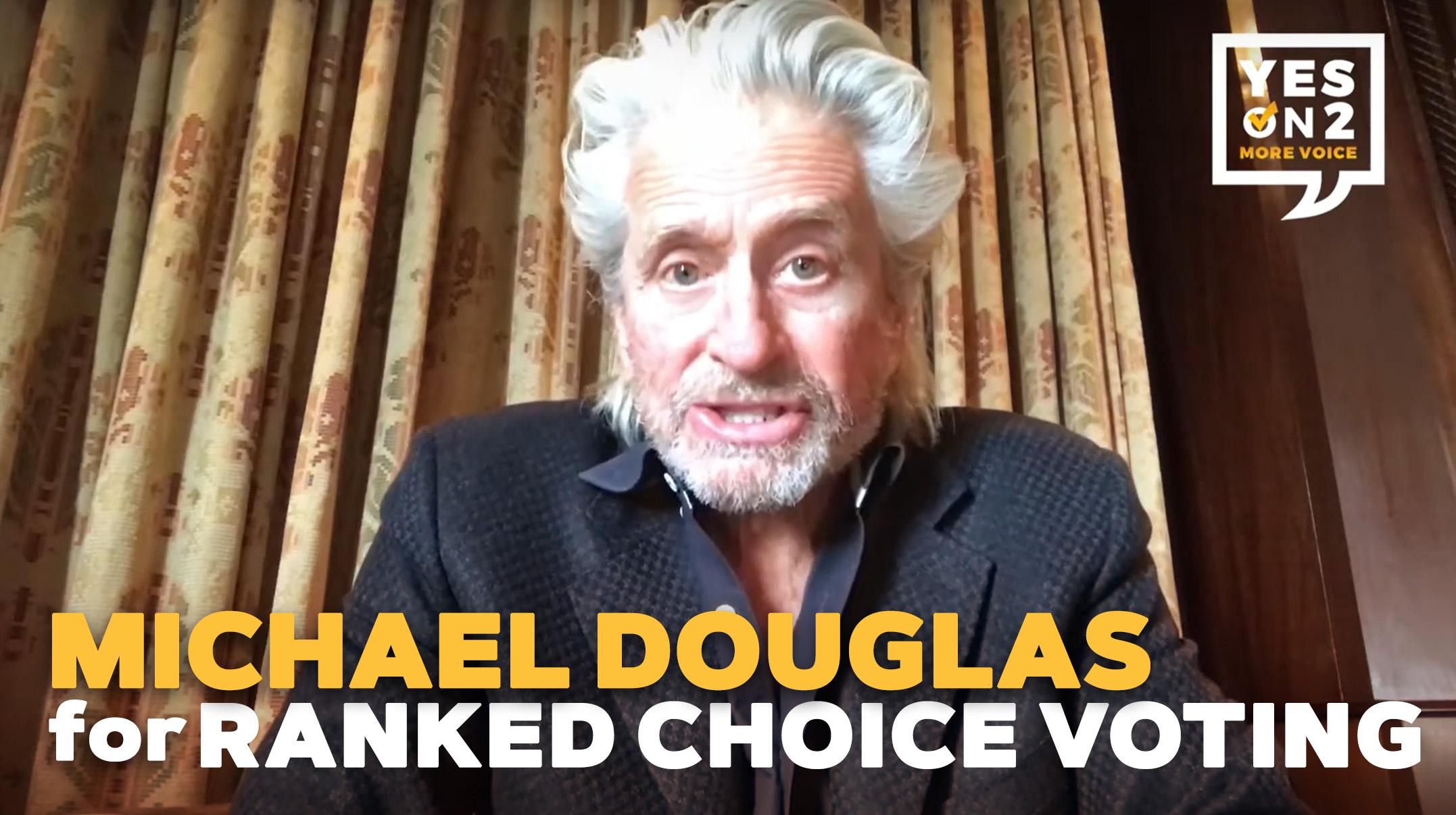Michael Douglas: Vote YES on 2 Massachusetts