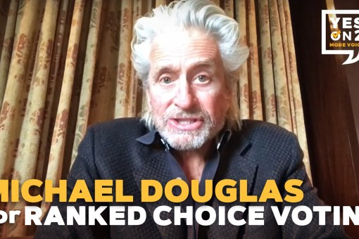 Michael Douglas: Vote YES on 2 Massachusetts
