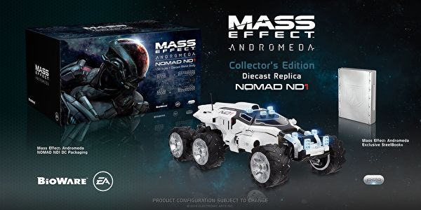 , Mass Effect Andromeda: rivelate due collector