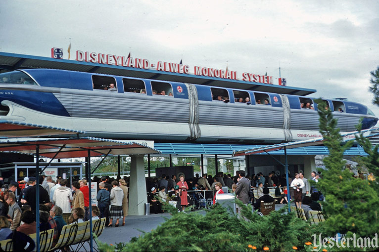 The Disney ALWEG Monorail System From 1959.