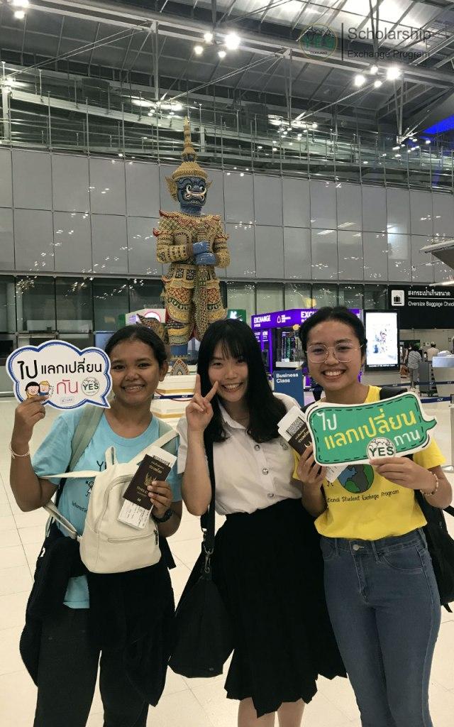 ประมวลภาพส่งนักเรียนเดินทาง