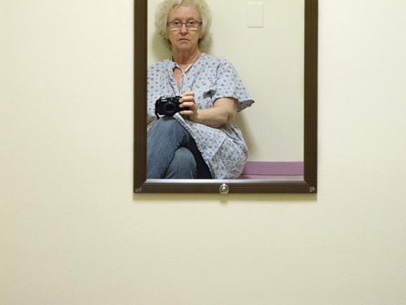 Waiting for Mammogram from Little Procedures by Karen Davis