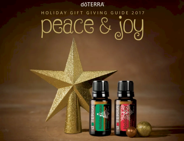 doTERRA Holiday Gift Guide 2017