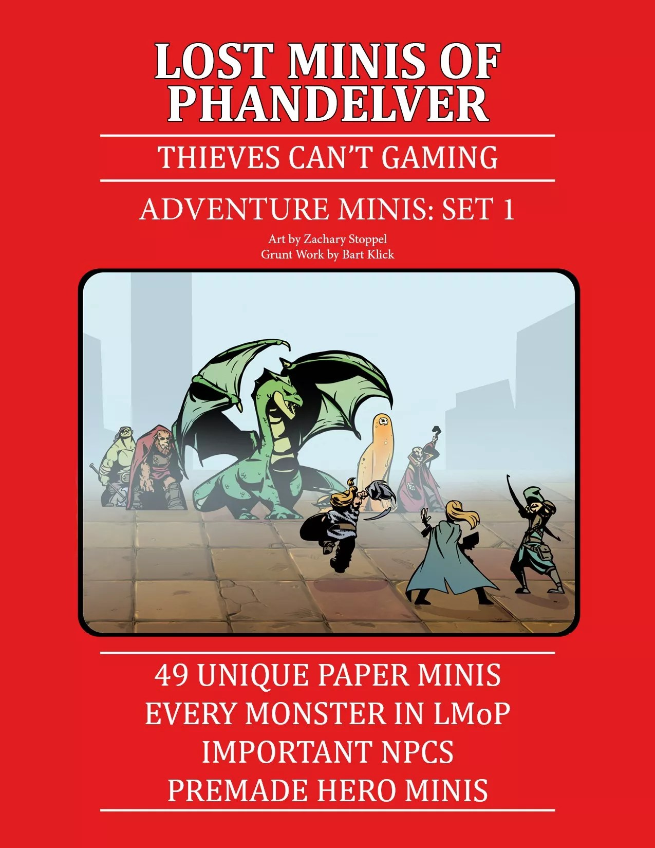 Adventure Minis - Set 1 - Starter Kit