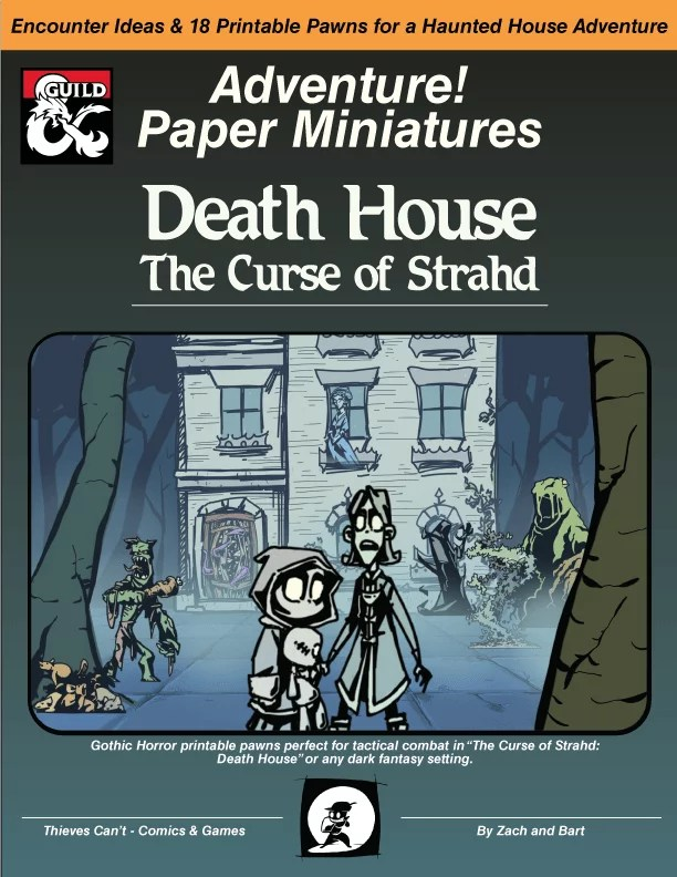 Death House Paper Minis / Printable Pawns