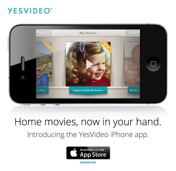 iphone movie app yesvideo iphone app now available 3345