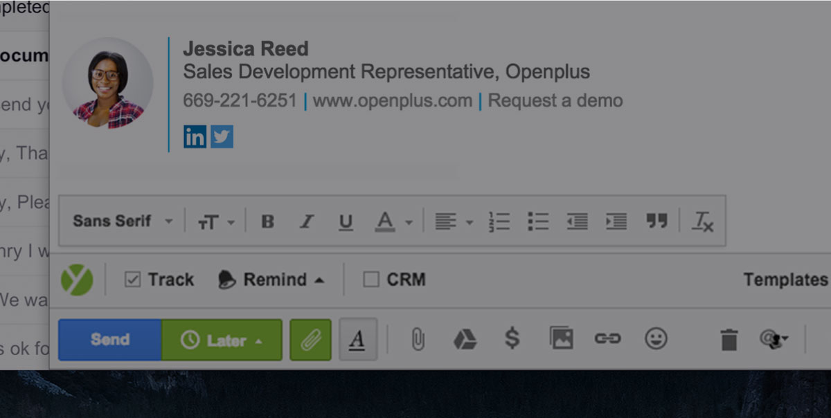 9 Professional Email Signature Examples Why They Work Yesware Blog