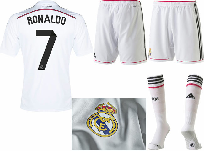 Real Madrid 2014-2015 Home and Away jerseys! | Yes We Foot ...