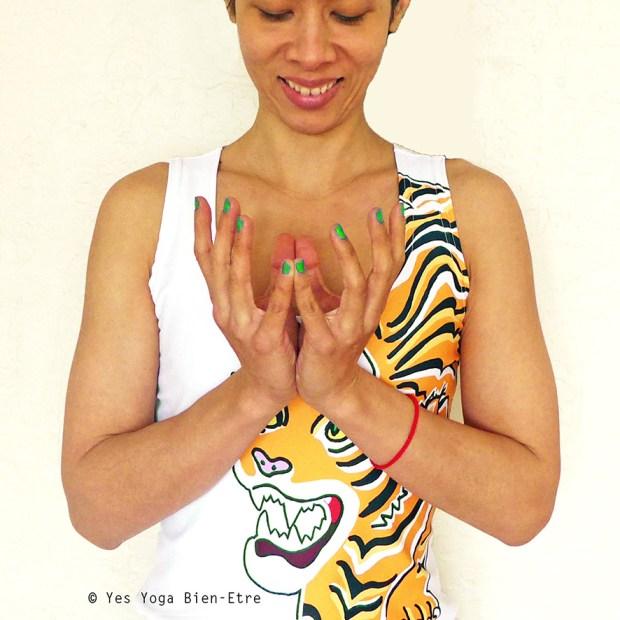 Le mudra du lotus padma mudra yes yoga bien etre