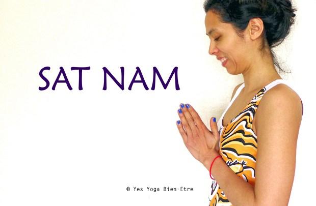 Sat Nam mantra Anjali Mudra par Yes Yoga Bien-Etre