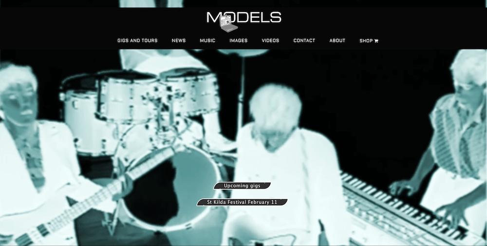 Models homepage