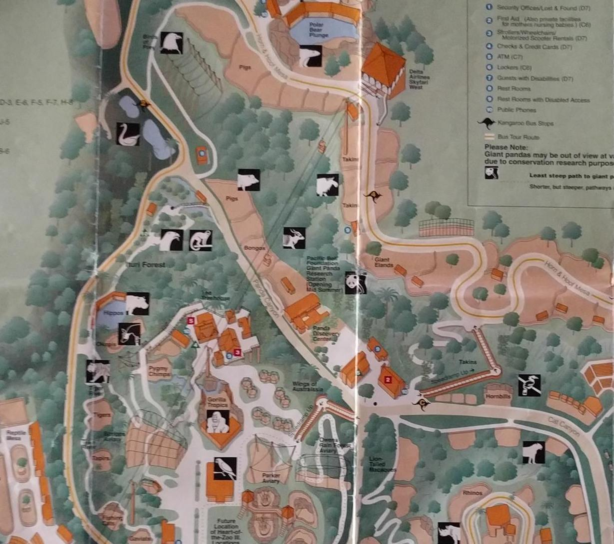HD Decor Images » Vintage San Diego Zoo Maps   YEW      Vintage San Diego Zoo Maps on imgur  I geek out on this shit