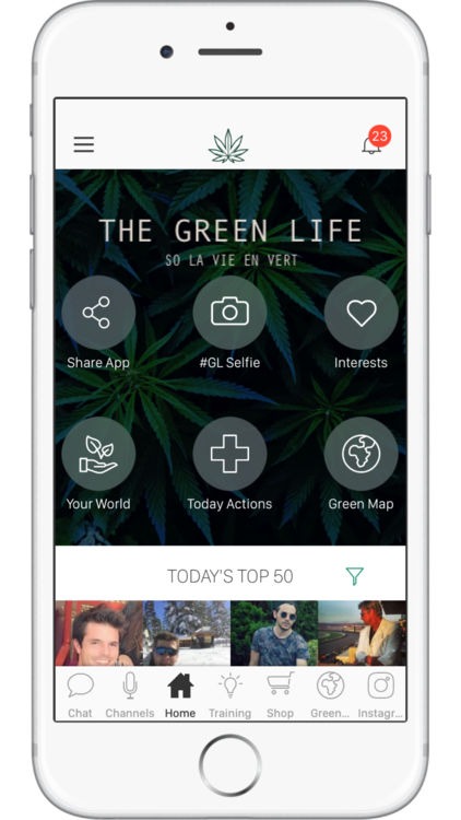 the green life app