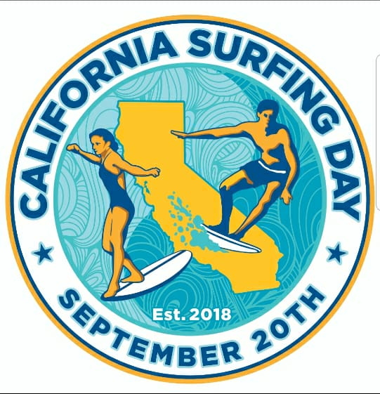 california surfing day
