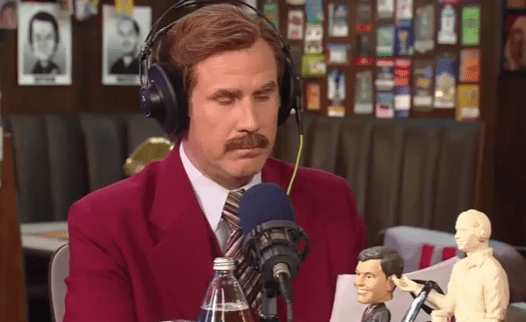 ron burgundy podcast