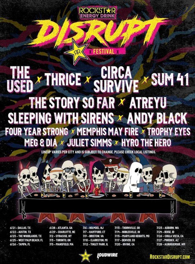 Rockstar Energy Disrupt Festival Disrupts Chula Vista - YEW!
