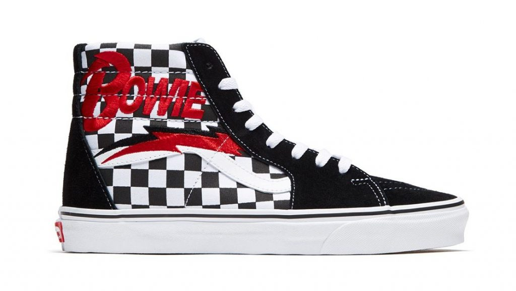 David Bowie Vans Are Coming Yew