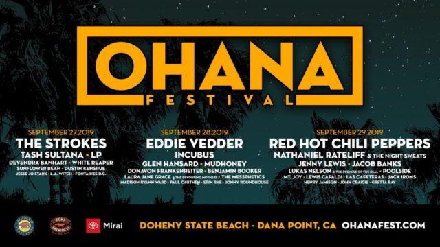 Ohana 2019 Lineup