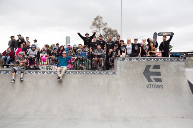 Adaptive Skateboard Park