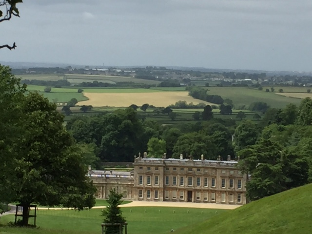 The 17th Century Mansion Dyrham Park near the Annexe Yew Tree Cottage