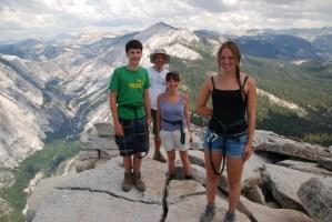 Yosemite Family Vacation
