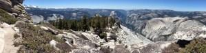 Waking Up with Half Dome: Yosemite Panoramas 5.23.13