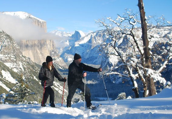 Snowshoe Hikes in Yosemite
