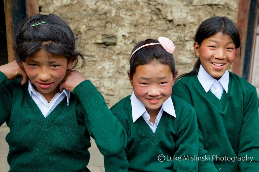 Nepal Schoolchildren