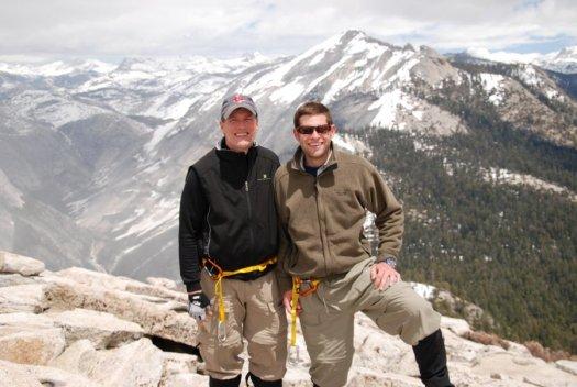 Yosemite-HalfDome-Summit-Father-Son-YExplore-DeGrazio-May2010